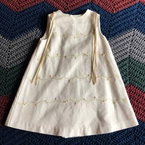 LULI & ME, Embroidered Floral Dress, 24 months*EUC